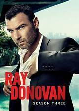 Ray Donovan: Third Season 3 Three, NEW, (DVD 2015, 4-Disc) Fast Shipping!!