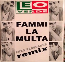 LEO VERDE - Fammi La Multa - Vinile  12 Mix - New -