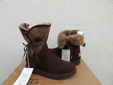 UGG COLLECTION BYANCA BRUNO HIDDEN WEDGE SHEARLING BOOTS, US 6/ EUR 37 ~NEW