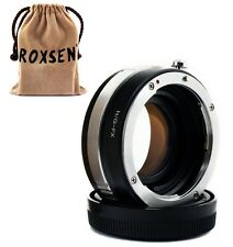 Focal Reducer Speed Booster Adapter Nikon F mount G lens to Fujifilm X-E2 T1 Pro