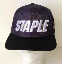 STAPLE Adjustable Snapback Hat/Cap World Renown Pigeon Brand NWT Graphic SMX
