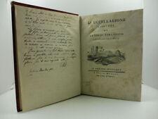 TIRABOSCHI Antonio, L'uccellagione libri tre di Antonio Tirabosco, caccia