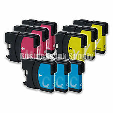 9 Color LC61 Ink Cartridges for Brother MFC-290C MFC-295CN MFC-J415W MFC-J670