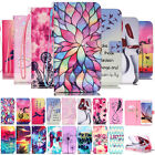 Pattern YB Leather Wallet Strap Case Cover For Samsung Galaxy S3/4/5/6/G360/G530