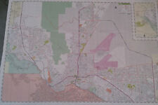 El Paso TX Laminated Wall Map (R)