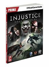 Injustice: Gods among Us : Prima Official Game Guide  (2013, PB)  FREE S/H