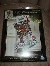 Dimension Gold Collection All Hearts Come Home for Christmas Stocking Kit