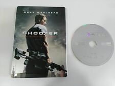 SHOOTER DVD STEELBOOK ENGLISH DEUTSCH - GERMAN EDITION + EXTRAS MARK WAHLBERG