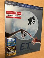 E.T. The Extra-Terrestrial BLU-RAY + DVD + DIGITAL COPY + ULTRAVIOLET) STEELBOOK