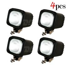 4pcs 55W 12V HID Xenon Work Light Flood Lamp For SUV ATV UTE Offroad Fog Driving