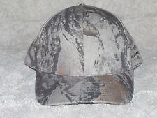 Natural Gear - Green Camo Baseball Hat with Concealed Face Netting - Small