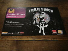 EMILIE SIMON - PETITE PUBLICITE THE BIG MACHINE !!!!!!!