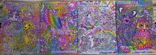 Lisa FRANK Set of 4 Brand NeW Adult Coloring Books 100 Total Pages PRIORITY Ship