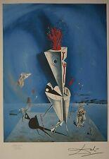 "Salvador Dali ""Apparatus and hand"" Lithograph Limited 2000 pcs."
