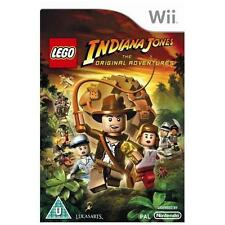 LEGO INDIANA JONES THE ORIGINAL ADVENTURE=Wii=Explore+Play 1st 3 Indy Films=GC✔