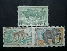 Collection Of  Republique Federale Du Cameroun - 3v Mint