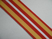 Voluntary Medical Service Medal 1932 Ribbon Full Size 15cm long