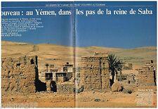 Coupure de presse Clipping 1990 (16 pages) Yemen,Dans pas de la reine de Saba