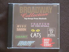 CD Brodway Collection Top-Songs From Musicals Cats Phantom of the Opera Cabaret