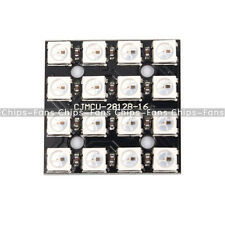 RGB LED 4x4 16Bit WS2812 5050 RGB LED + Integrated Drivers For Arduino