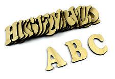 Pequeño 26 De Madera Letras del alfabeto / Colgante De Pared / Decoración Infantil / Alfabeto De Pared