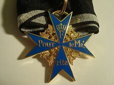 German Blue Max Pour le Merite Medal & ribbon