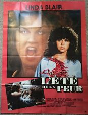 SUMMER OF FEAR ORIGINAL POSTER WES CRAVEN LINDA BLAIR HUGE