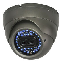 F3 DUAL LENS CCTV IR DOME Double CAMERA Vandal Proof DAY & NIGHT VISION 600TVL