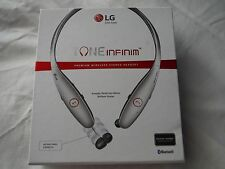 Tone Infinim HBS 900 Bluetooth Headset Headphone Harmon Kardon iPhone LG Silver