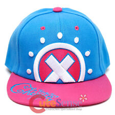 One Piece Chopper Sanpback Hat Trucker Flat Bill Cap