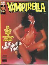 VAMPIRELLA # 74 (WARREN HORROR MAGAZINE, DEC 1978), FN/VF