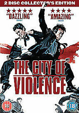 The City Of Violence 2-Disc Collector's Edition Dvd Brand New & Factory Sealed