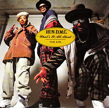 """7"""" RUN-D.M.C what's it all about UK 1990 the ave RAP"""
