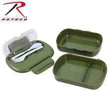 Rothco Olive Drab Green Boy Cub Scout Army Military Camping Mess Lunch Box Kit