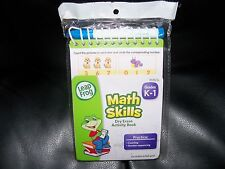 Leap Frog Math Skills K-1 Dry Erase Activity Book New Last One