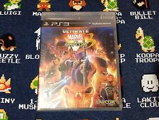 Ultimate Marvel vs. Capcom 3 BRAND NEW SEALED  (Sony PlayStation 3, 2011)