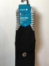 Stance NBA On Court Solid Men's Crew Socks Fusion Basketball Size Large 9-12
