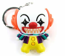 "Horror Properties Figural Keyring Series 1 PENNYWISE THE CLOWN 3"" KEYCHAIN IT"