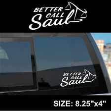 Better Call Saul logo sticker decal - Saul Goodman / Jimmy McGill