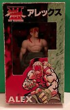 """ALEX"" Street Fighter 3 New Generation: 7.5"" Japanese Action Figure: RARE NIB!"