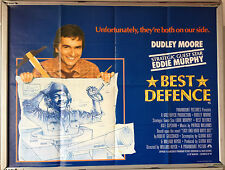 Cinema Poster: BEST DEFENCE 1984 (Quad) Dudley Moore Eddie Murphy Kate Capshaw