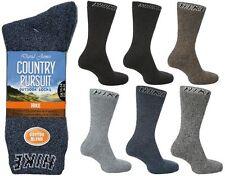 3 pares para hombre Big Foot país busca trabajo calcetines de senderismo 11-14