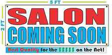 SALON COMING SOON Banner Sign NEW Larger Size Best Quality for the $$$