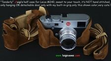 "BY LUIGI,""TENDERLY"" CASE+GRIP for LEICA MP/M240,+DELUXE STRAP+SHIPPING INCLUDED"