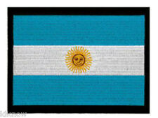 "Argentina (embroidered) Country Flag Patch 5""x 4"" (13 x 10CM) approx"