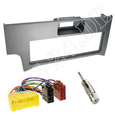 Autoradio DIN Einbaurahmen Radioblende+Adapter Einbauset für Nissan Primera P11