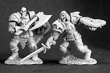 Barrow Wardens a Reaper Miniatures Dark Heaven Legends Undead Skeleton Warrior