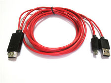 Mini USB MHL to HDMI Cable HDTV 1080P Adapter for Galaxy S4 S3 Note 2