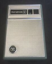 Westinghouse 6 Transistor Radio Gem Mint New W/ Case h-707p6gpa Beauty