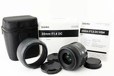 【Excellent+++】 SIGMA 30mm F1.4 DC HSM Art for PENTAX with box from Japan 102006